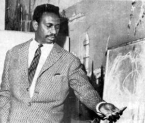Cheikh Anta Diop in his last lecture in Paris before his definitive back in Senegal in 1960.